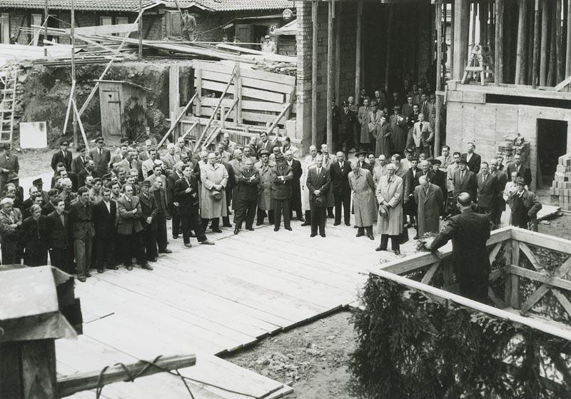 1954-richtfest